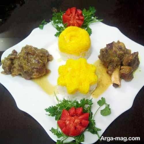 تزیین غذای مجلسی