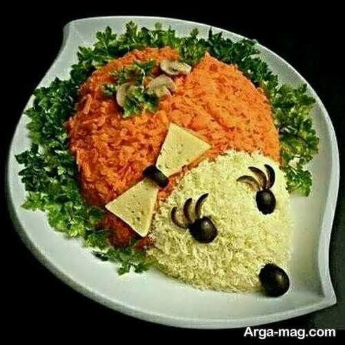 انواع تزیینات هویج