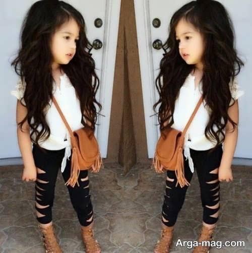 مدل موی دخترانه بچه گانه