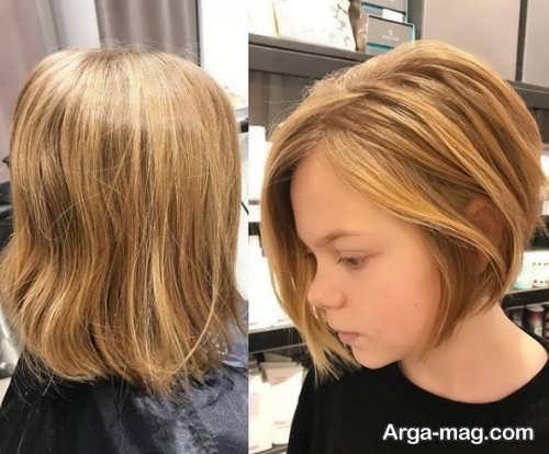 مدل موی کوتاه بچه گانه