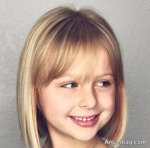 مدل موی دخترانه بچه گانه شیک و زیبا