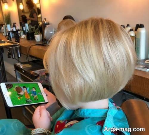 مدل مو کوتاه و زیبا بچه گانه