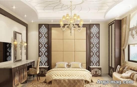 دیزاین شیک اتاق خواب کلاسیک
