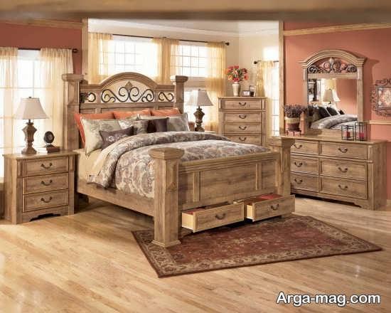 چیدمان کلاسیک اتاق خواب