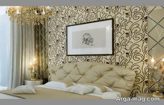 دکوراسیون اتاق خواب لاکچری کلاسیک