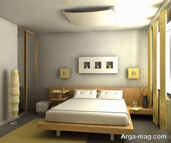 دکوراسیون جذاب اتاق خواب کلاسیک