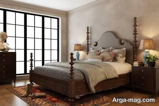 دکوراسیون منحصر به فرد اتاق خواب کلاسیک