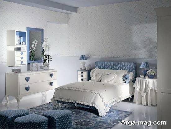 دکوراسیون عالی اتاق خواب کلاسیک