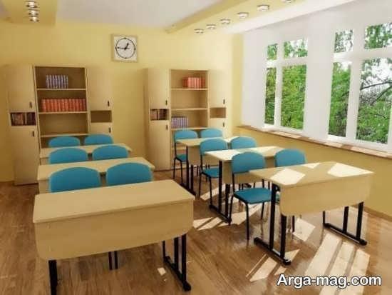 دیزاین متفاوت کلاس درس