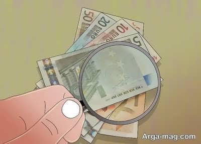تشخیص یورو واقعی با واترمارک