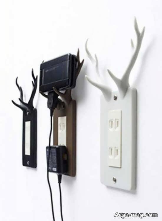 ایده جالب برای تزیین روی پریز برق