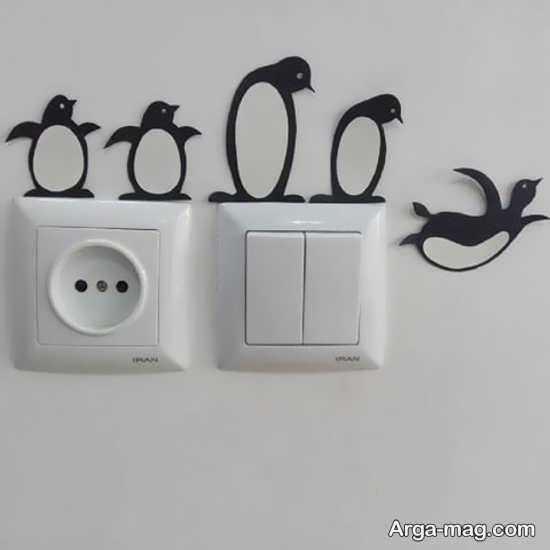 انواع تزیین برای کلید و پریز برق