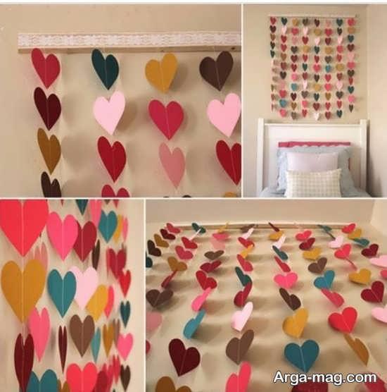 تزیین زیبای دیوار منزل