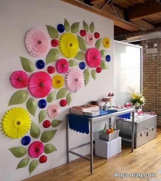 خلاقیت و تزیین روی دیوار