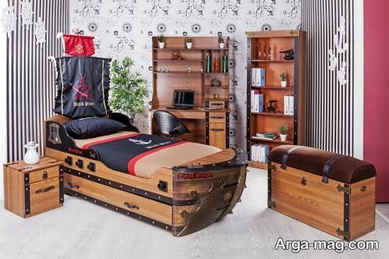 تزیین جالب اتاق خواب پسرانه