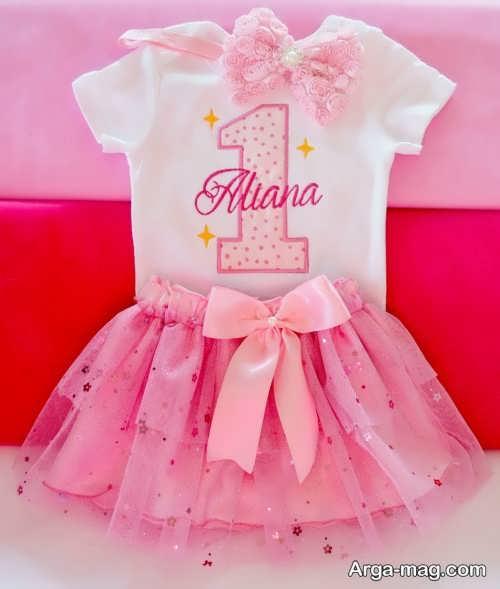 تزیین جالب لباس نوزاد