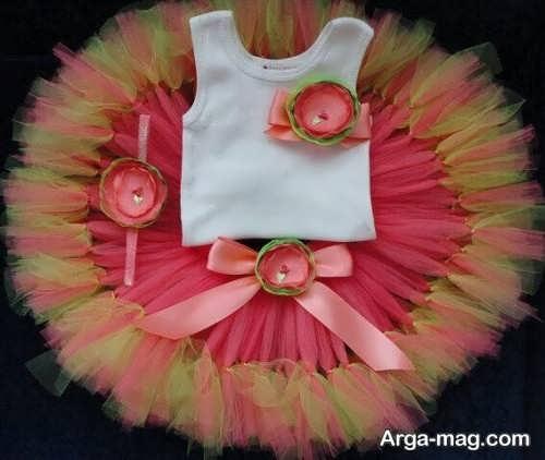 تزیین شیک لباس نوزادی