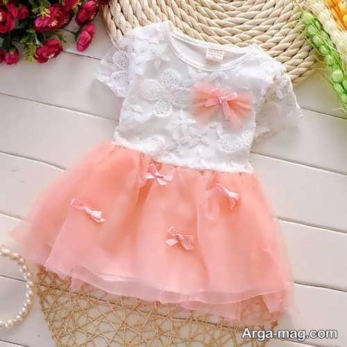 تزیین شیک لباس نوزاد