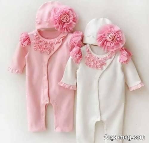 ایده های جالب برای تزیین لباس نوزاد