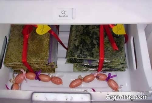 تزیین سبزیجات یخچال عروس
