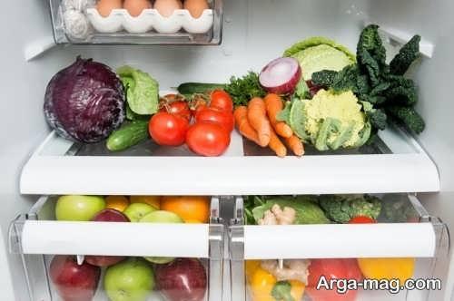 تزیین زیبا و شیک سبزیجات یخچال عروس