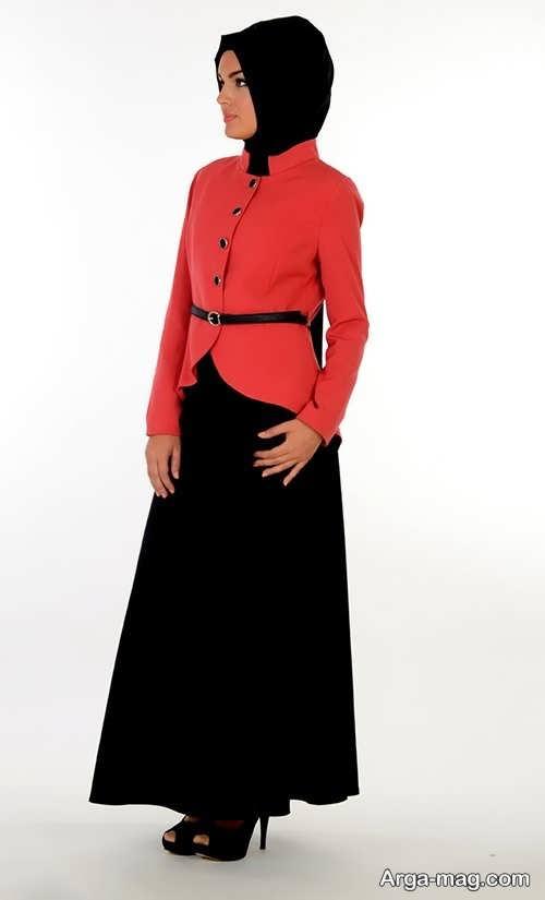 مدل لباس مجلسی شیک و پوشیده