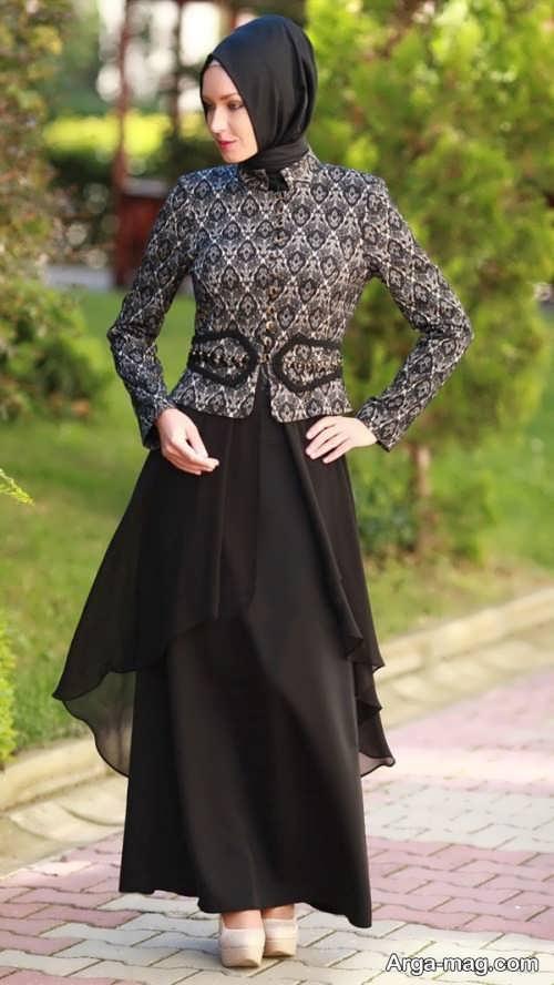 مدل لباس طرح دار برای مراسم خواستگاری