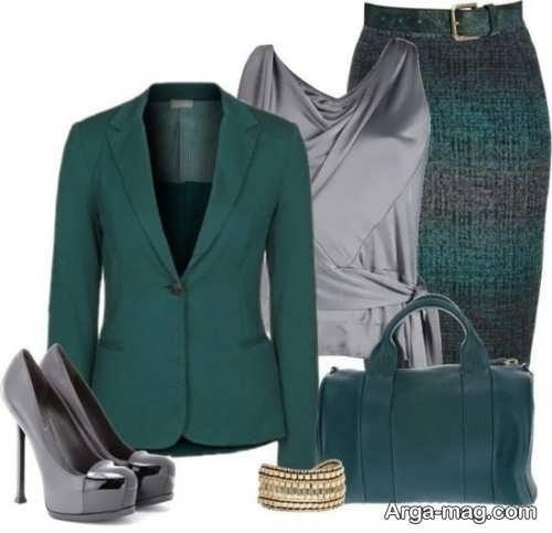 مدل کت و دامن پوشیده برای مراسم خواستگاری