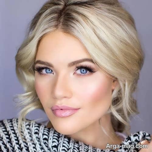 مدل آرایش صورت برای عروسی