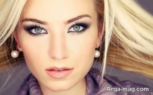 مدل آرایش صورت لایت