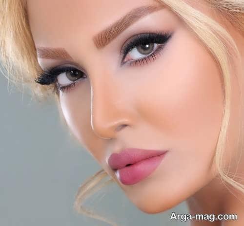 آرایش صورت زنانه مجلسی