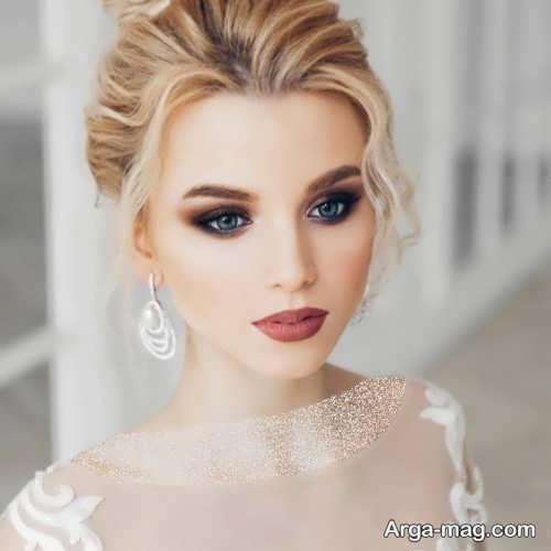مدل آرایش صورت زیبا و شیک
