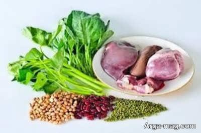مواد غذای برای درمان احساس لرز در بدن