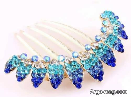 مدل گل سر آبی