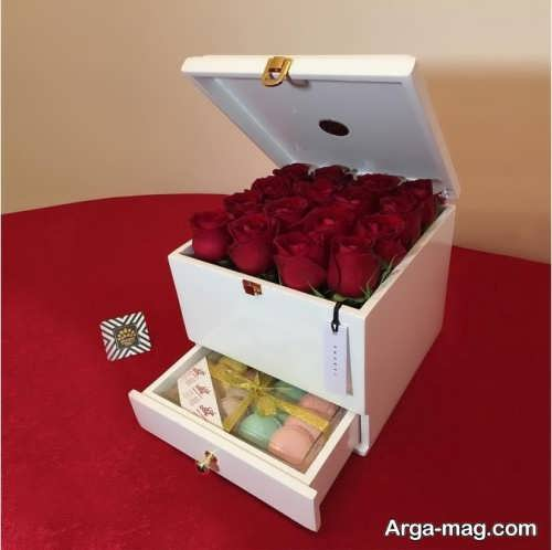 باکس گل مخصوص ولنتاین