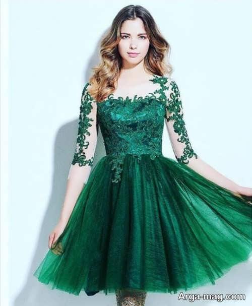 مدل لباس مجلسی پوشیده و زیبا