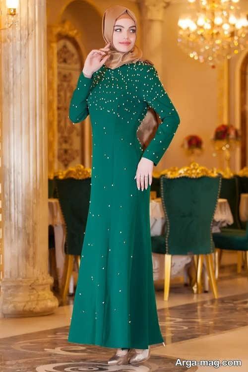 مدل لباس مجلسی شیک و بلند