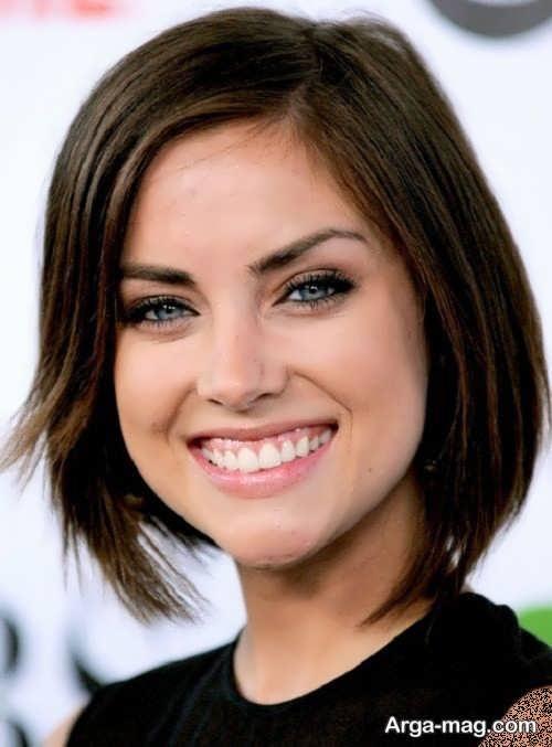 مدل موی شیک و زیبا برای صورت قلبی