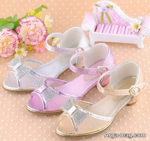 عکس کفش های تابستانی بچه گانه