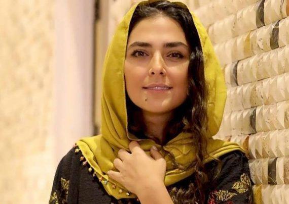 هدی زین العابدین با مدل موی بافته