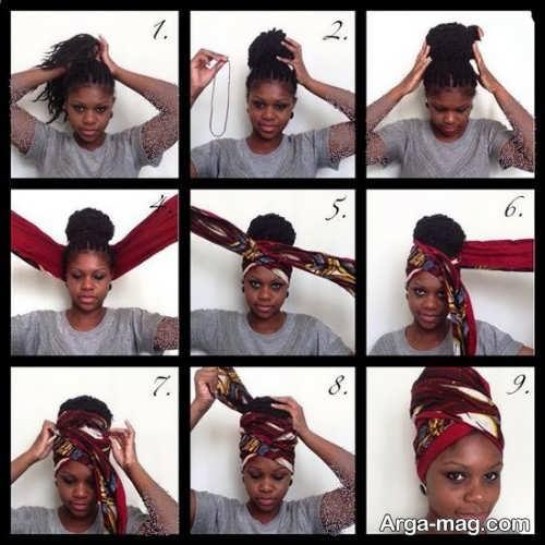 مدل دستمال سر