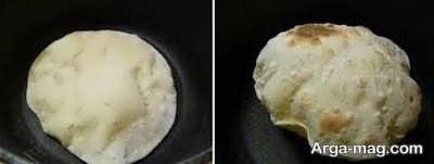 مواد لازم برای تهیه نان تافتون