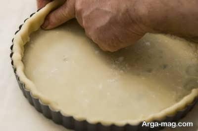 مراحل تهیه و نحوه پخت خمیر پای