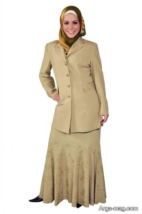 کت و دامن رسمی زنانه