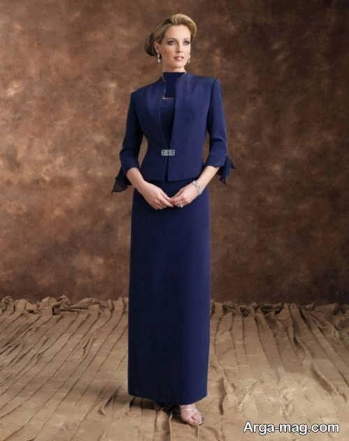 کت و دامن بلند زنانه