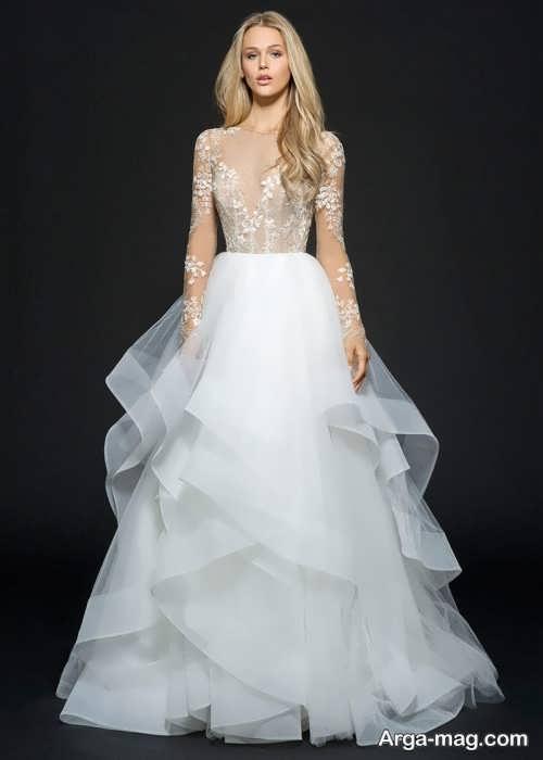 لباس عروس بلند و زیبا