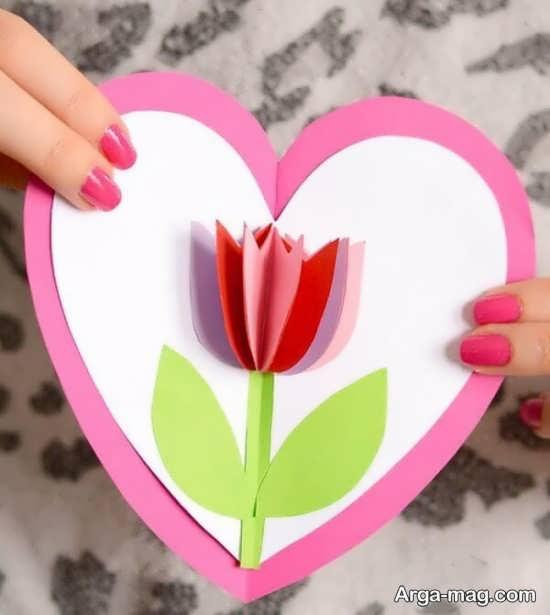کاردستی قلب