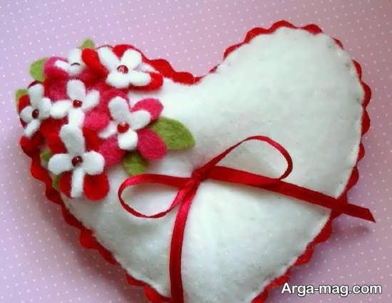 کاردستی جذاب قلب
