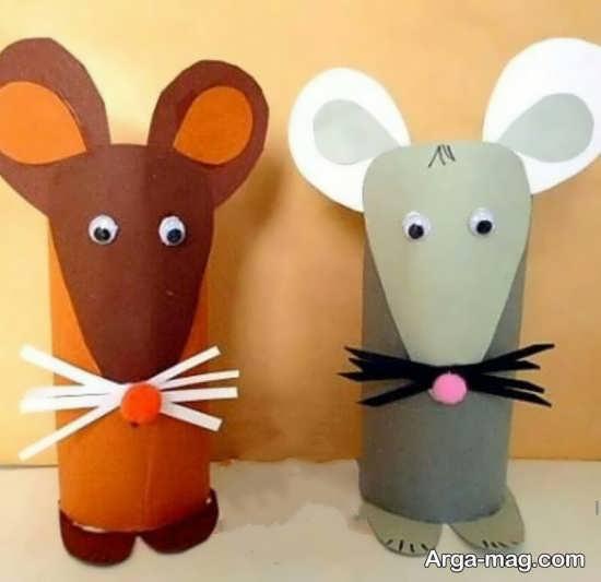 خلاقیت ساخت موش