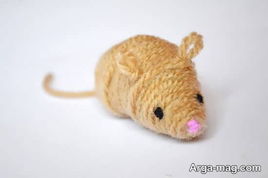کاردستی ساده موش
